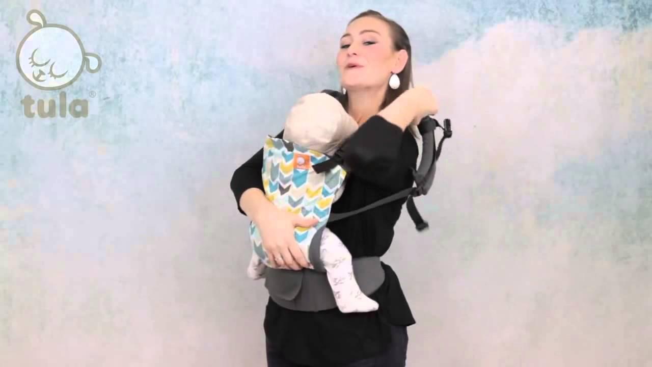 Tula porte bébé physiologique Instructions installation position ventrale 284931adede