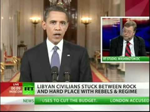 The media isn't reporting the meaning behind Libya