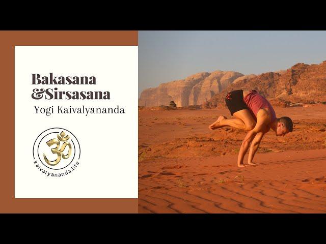 Bakasana by the Bosphorus with Yogi Kaivalyananda