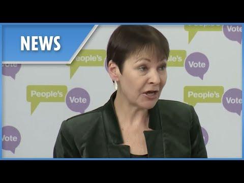 Caroline Lucas calls for People's Vote second referendum