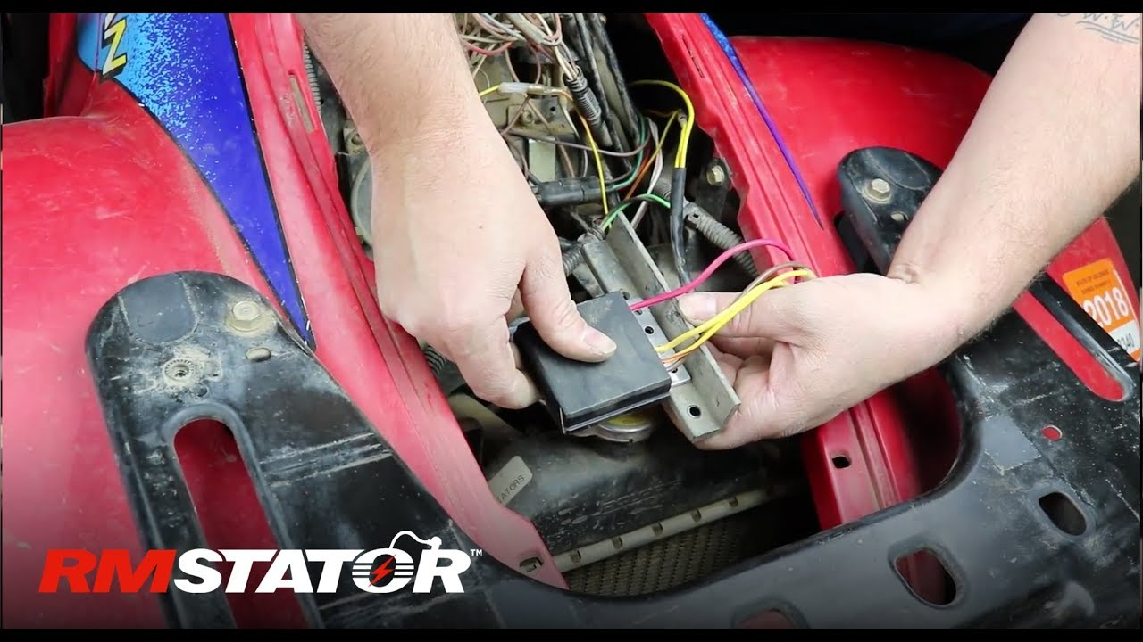 How To Install a Polaris Regulator Rectifier # 2203636 4060173 For Sportsman 500 and more