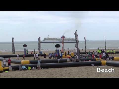 Calais France A Day trip in just 5 minutes (town, beach and fun)