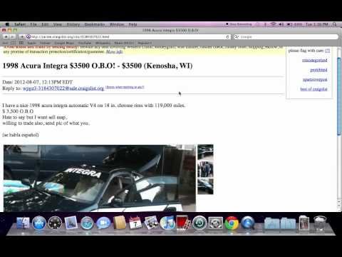 Craigslist Kenosha Wisconsin Used Cars, Vans And Trucks - Fsbo