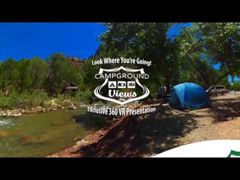 Fishing Bridge RV Park Yellowstone National Park 360 Video Virtual Reality Tour