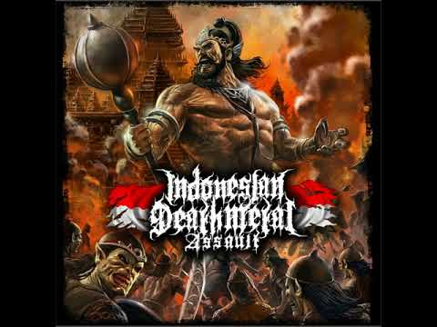 Kompilasi lagu metal 2015 V A Indonesian Death Metal Assault 2015