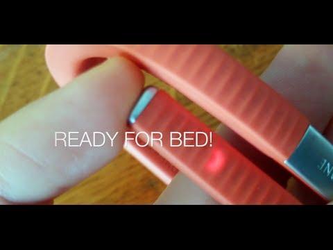 Jawbone Up 24 How To Switch To Sleep Mode Youtube