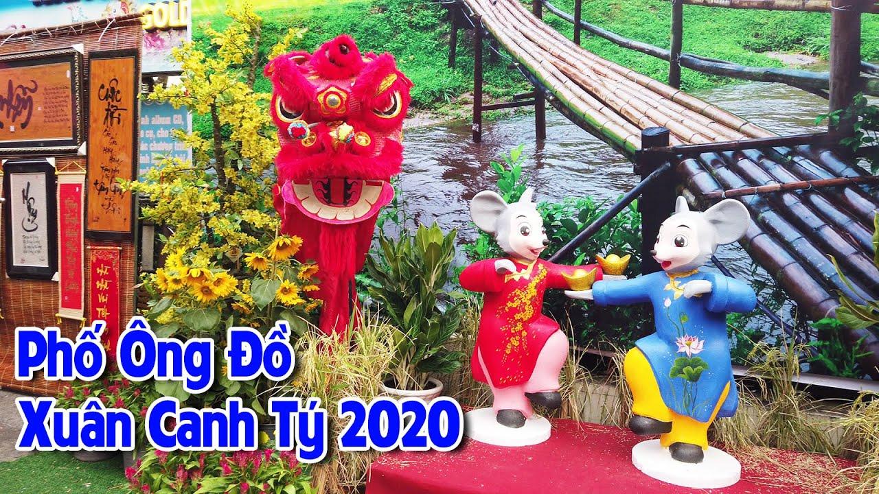 🌺 Phố Ông Đồ Xuân Canh Tý 2020 - Cung Văn Hóa Lao Động ✅ #Người_Miền_Quê