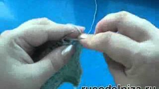 Вязание ажура спицами
