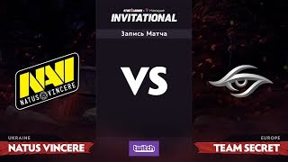 Группа Б, Natus Vincere против Team Secret, SL i-League Invitational S3