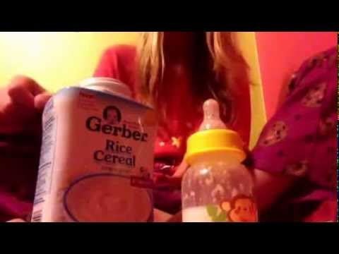 How to make reborn baby formula with baby rice cereal youtube ccuart Images