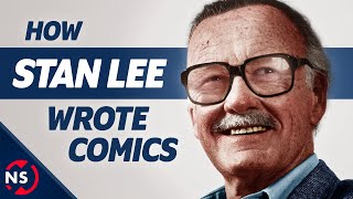 Marvel's Unconventional Storyteller: How Stan Lee Wrote Comics