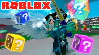 DISINTEGRATING PISTOLA?! AMAZING LUCKY BLOX... IN ROBLOX 😍