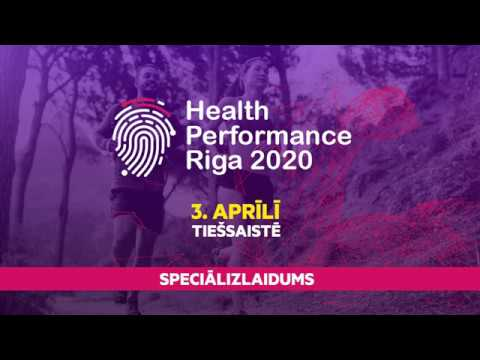 Health Performance Riga 2020 Speciālizlaidums lektori