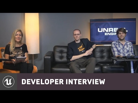 Hourences visits Epic | Developer Interview | Unreal Engine