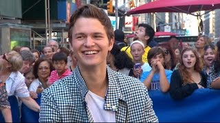 Ansel Elgort Interview 2014: 'Men, Women & Children' Trailer Premiere