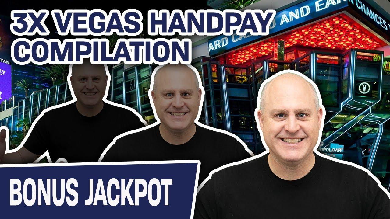 🥉 jackpot, Jackpot, JACKPOT 💵 IGT SLOTS 3X HANDPAY Compilation from COSMO LAS VEGAS