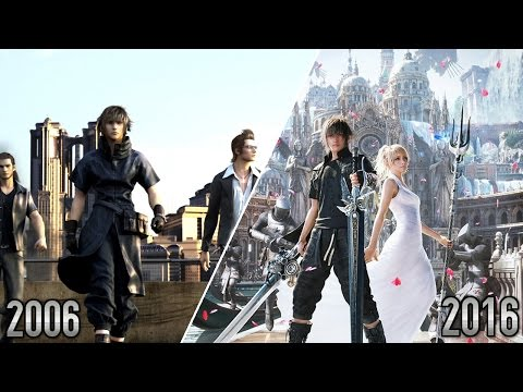 Final Fantasy XV - 2006 VS 2016 | Version 2.0
