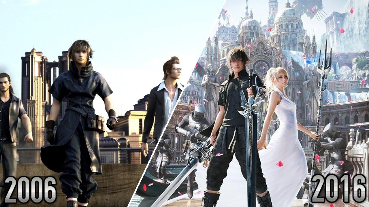 Final Fantasy XV - 2006 VS 2016