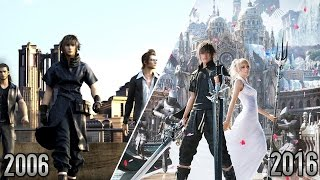 Video Final Fantasy XV - 2006 VS 2016 | Version 2.0 download MP3, 3GP, MP4, WEBM, AVI, FLV Juni 2018