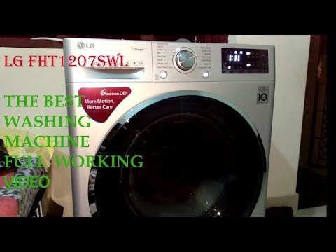 LG Front Load Washing Machine WASH To DRY, Full Video HD