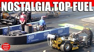 2014 New England Hot Rod Reunion Bartone Young Nitro Top Fuel Dragster Nostalgia Drag Racing Videos