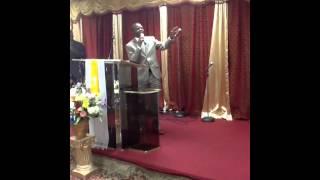 Pastor Prince Mafukidze from Zimbabwe