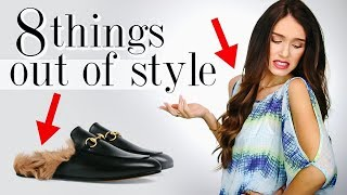 8 Fashion Trends OUT OF STYLE in 2019! *trash or donate* Video