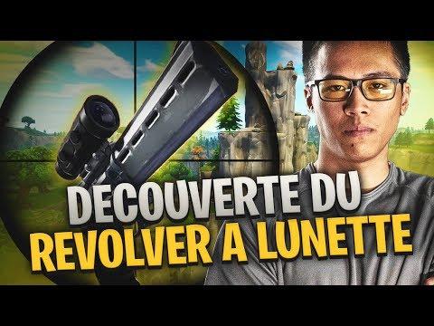 DECOUVERTE DE LA NOUVELLE ARME FORTNITE: REVOLVER A LUNETTE