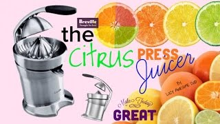 Citrus Press Juicer Breville d…