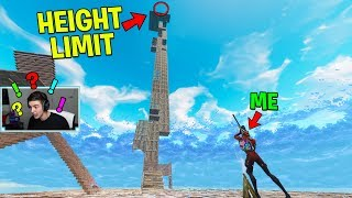 The TALLEST 360 TRICK-SHOT in FORNITE! (WORLD RECORD!) | Fortnite Playground Mode Gameplay