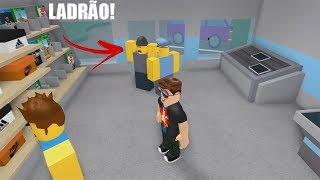 ROBLOX: entered THIEF on MY TOY STORE! (Retail Tycoon)