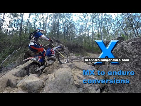 MOTOCROSS TO ENDURO/GNCC/WOODS CONVERSION TIPS: Yamaha YZ250