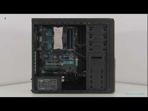 SilentiumPC Brutus 310 i 410 Pure Black - video recenzja