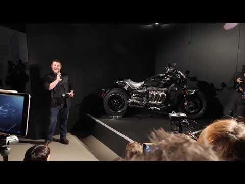 Triumph Thruxton TFC launch and Rocket TFC concept  MCN  Motorcyclenews com