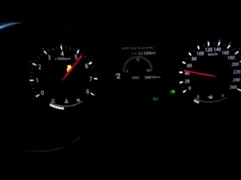 KIA Optima 2.0 CVVL 0 130km h acceleration