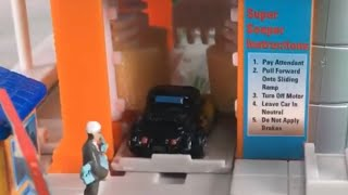 Micro Machines Super Car Wash Toy mini playset super soaper miniature demo review kids learn toys
