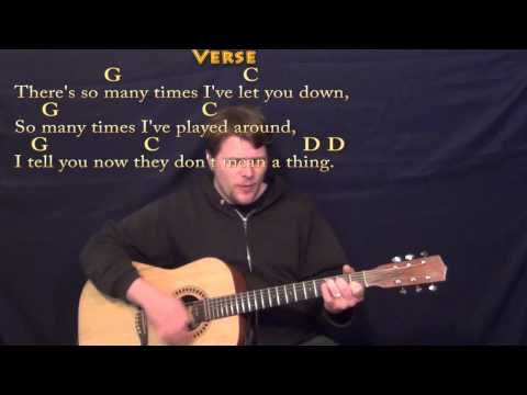 Leaving on a Jet Plane (John Denver) Strum Guitar Cover Lesson with Chords/Lyrics