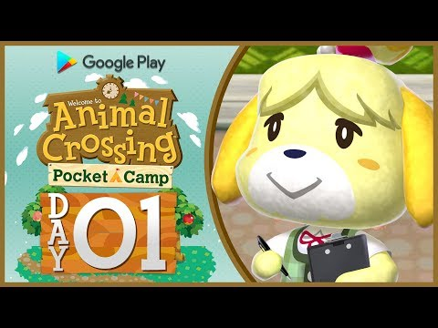 Animal Crossing Pocket Camp: Part 1 | Let's Build A Campsite! [🔴LIVE Gameplay]