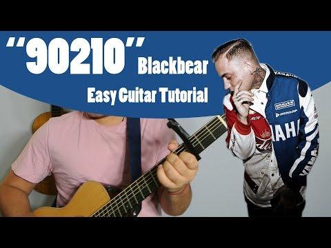 """90210"" - BLACKBEAR (Easy Acoustic Guitar Tutorial Video)"