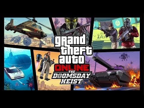 GTA 5 Online Major DLC Trailers - Up to The Doomsday Heist