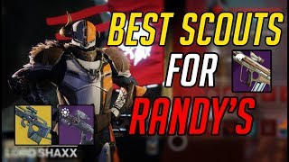 Best SCOUT RIFLES FOR GETTING RANDY'S Throwing Knife | Get randys made easy