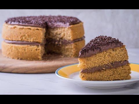 เค้กคาราเมลเกลือหน้าช็อกโกแลตครีมชีส Salted Caramel Cake with Chocolate Creamcheese Icing - วันที่ 17 Jul 2018