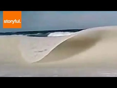 The Frozen Waves Of Cape Cod (Storyful, Crazy Weather)