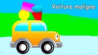 Partie 1 avec la voiture maligne pour apprendre les formes