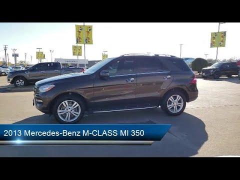 2013 Mercedes-Benz M-CLASS Ml 350 Dallas Irving Arlington ...