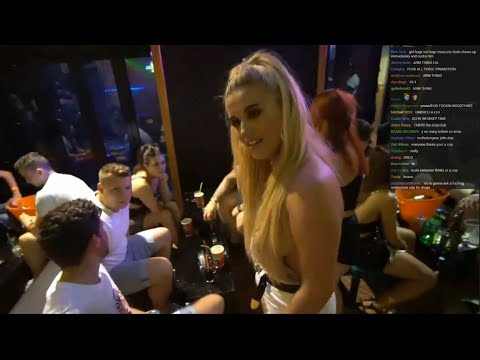 Ice Poseidon Meets DRUNK Girls in IBIZA, Spain w/ Chat