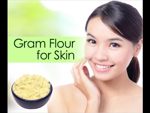 Image result for face  care through gram flour
