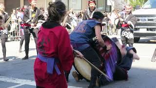 Parade's Kendo Drums Enter Finalizing Japantown Presentations