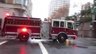 San Francisco Fire Department @ Clay St & Battery St San Francisco California