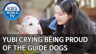 Yubi crying being proud of the guide dogs [Dogs are incredible/ENG/2020.03.31]